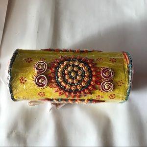 Handmade Ethnic Bangle Bracelet Jewelry Box India